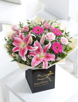 Pink Radiance Hand-tied, £29.99