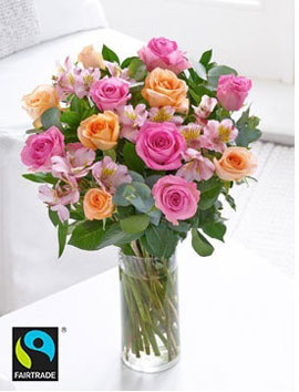 Fairtrade Classic Rose Hand-tied, £29.99